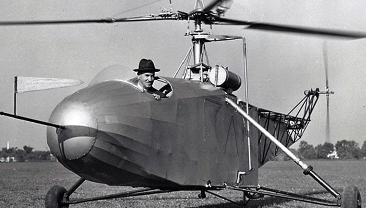 Quem Inventou o Helicóptero?